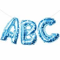 ABC Folienballon Girlande Schuleinführung Einschulung Schulanfang Feier Deko blau