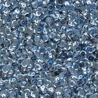 1400 Pailletten Konfetti gewölbt - ice blue