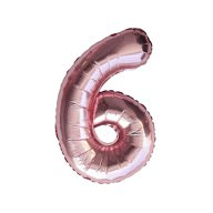 1x Folien Luftballon mit Zahl 6 Geburtstag Jubiläum Party Deko Ballon