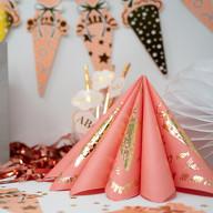 20 Servietten für Schuleinführung Schulanfang Einschulung Deko Schulkind ABC Zuckertüten Luftballons