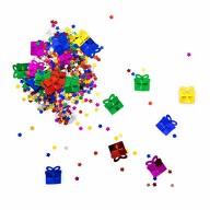Konfetti Sterne Geschenke Tisch Deko für Kinder Geburtstag Party Schuleinführung über 300 Stk - bunt