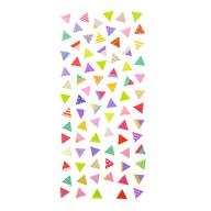 Dreieck Sticker Set Vintage Style Retro Aufkleber Scrapbooking Basteln