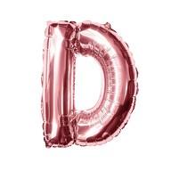 Folien Luftballon Buchstabe D Geburtstag JGA Hochzeit Party Deko Ballon - roségold