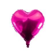 Folien Luftballon Herz Form Kinder Geburtstag Baby Shower Mädchen Party JGA Hochzeit - pink