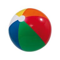 Wasserball Strandball Beachball aufblasbar 25 cm Sommer Badespaß Sport Regenbogenfarben