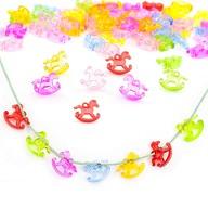 Schaukelpferd Schaukelpferdchen 3D Konfetti Baby Shower - bunt