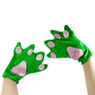 Frosch Handschuhe Froschhände Kostüm Accessoires Karneval Fasching Motto Party Unisex