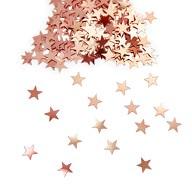 Stern Konfetti Über 500 Stk Tischdeko Weihnachten Geburtstag Party - rosé gold