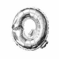Folien Luftballon Buchstabe Q Geburtstag Silber Hochzeit Party Deko Ballon - silber
