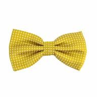 Fliege Schleife gepunktet Hochzeit Anzug Smoking - gold
