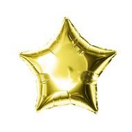 Folien Luftballon Stern Form Geburtstag Silvester Party JGA Hochzeit - gold
