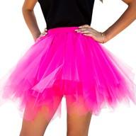 Tutu Tütü Damen Rock pink Tüllrock Unterrock Kostüm Accessoire Fasching Karneval 80 cm - 144 cm
