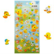 42 Enten 3D Sticker Aufkleber Set Deko Kinder