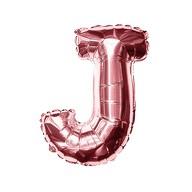 Folien Luftballon Buchstabe J Geburtstag JGA Hochzeit Party Deko Ballon - roségold