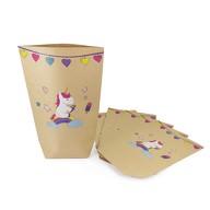 6 Einhorn Geschenktüten Einhörner Papiertüten Kinder Geburtstag