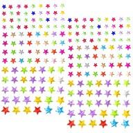 180 Sterne Sticker Aufkleber selbstklebend Verzierung Deko Steine
