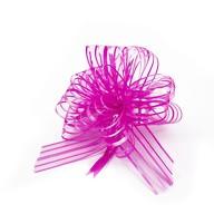 Geschenkschleife mit Geschenkband Groß Deko Schleife glänzend Geschenkdeko - pink