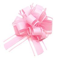 Geschenkschleife Deko Schleife für Geschenke Tüten Zuckertüte Weihnachten Geschenkdeko - light rosa