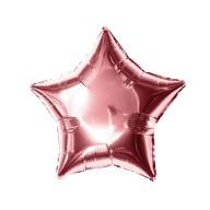 Folien Luftballon Stern Form Geburtstag Silvester Party JGA Hochzeit - roségold