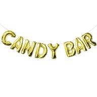 Candybar Folienballon Girlande JGA Junggesellinnenabschied Hochzeit Geburtstag Party Deko gold