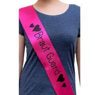 Schärpe Braut Guard JGA Junggesellinnenabschied Hen Party pink