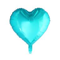 Folien Luftballon Herz Form Kinder Geburtstag Baby Shower Jungs Party JGA Hochzeit - türkis