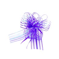 Geschenkschleife mit Geschenkband Groß Deko Schleife Geschenkdeko - lila