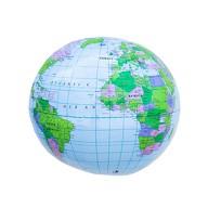 Erde Globus Weltkugel aufblasbar Topografischer Wasserball Strandball Beachball Wasserspielzeug