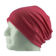 Long Beanie XXL Mütze Slouch Damen Herren Kinder Mütze - pink