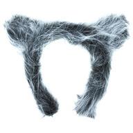 Haarreifen Wolf Ohren Wolfsohren Haarreif für Fasching Karneval Motto Party Halloween Werwolf Kostüm