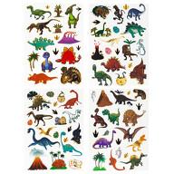 78 Temporäre Tattoos Kinder Dinosaurier Tattoo Set Klebetattoos für Kinder zum Spielen Dino Motive