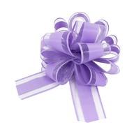 Geschenkschleife Deko Schleife für Geschenke Tüten Zuckertüte Weihnachten Geschenkdeko - lila