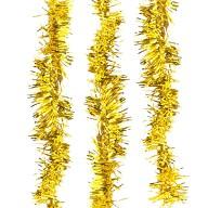 3x Folien Girlande Geburtstag JGA Hochzeit Silvester Party Feier Hänge Deko - gold