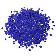 Stern Konfetti Über 500 Stk Tischdeko Geburtstag Weihnachten Fasching Karneval Party - königsblau
