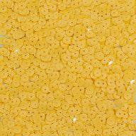 1400 Pailletten Konfetti gewölbt - gelb