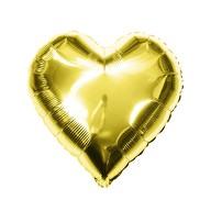 Folien Luftballon Herz Form Hochzeit JGA Hen Party Geburtstag Party - gold