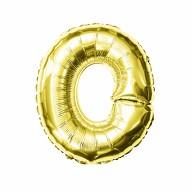 Folien Luftballon Buchstabe O Geburtstag goldene Hochzeit Party Deko Ballon - gold