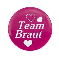 Button JGA Junggesellinnenabschied Hochzeit - Team Braut