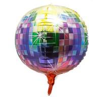 Folien Luftballon Discokugel Disko Ball Folienballon Geburtstag Party Hochzeit JGA Silvester - bunt