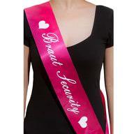 Schärpe Braut Security JGA Junggesellinnenabschied Hen Party pink