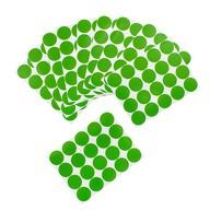 200 Markierungspunkte Klebepunkte Sticker Aufkleber ⌀ 2cm - grün