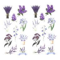 20 Blumen Sticker Pflanzen Aufkleber Vintage Küche Dekoration Scrapbooking Kinder Basteln