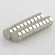 Neodym Magnet Extrem N42 ø 10 x 5 mm