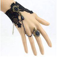 Damen Armband Gothic Collier Spitze - Armband