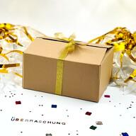 Überraschungsbox Überraschungspaket Geschenkbox - Girlanden Ballons Sticker Konfetti uvm. Dekoartikel