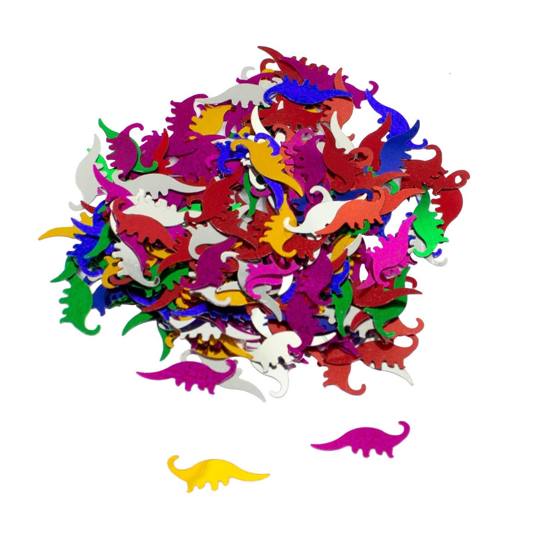 Dino Konfetti Bunt Kinder Geburtstag Dinosaurier Tisch Deko Streudeko