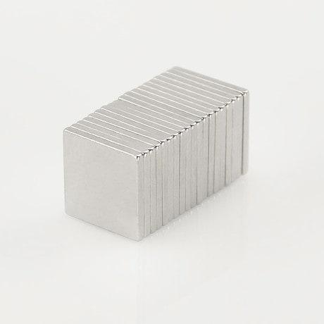 Neodym Magnet Extrem N50 10 x 10 x 1 mm