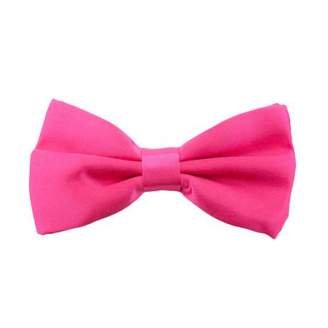 Kinder Fliege Schleife verstellbar Hochzeit Anzug Smoking - pink