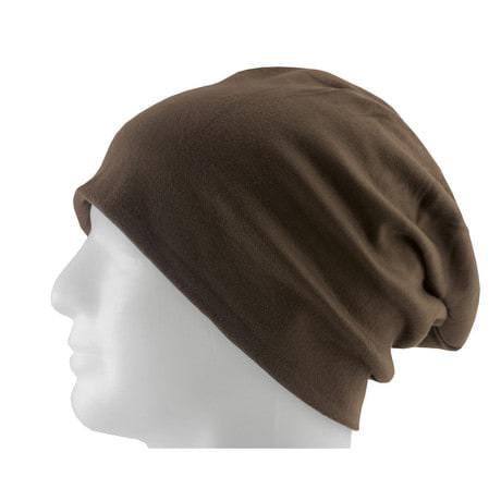 Long Beanie XXL Mütze Slouch Damen Herren Kinder Mütze - choko brown