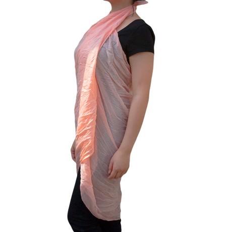 Tuch Schal Chiffon Stola Fashion Outfit Damen Tücher - lachs